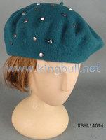 Fashion Women Knitted Beret Wool Hat Winter Accessories
