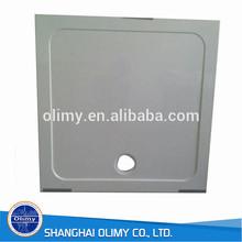 Olimy Custom deep fiberglass flat shower trays,SMC shower base