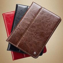 2014 QIALINO New arrival top grade genuine leather for ipad mini 2 case