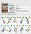 2014 nuovo caldo educativo giocattolo pittura libro per bambini