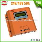 24V48V 20A~50A solar charge controller