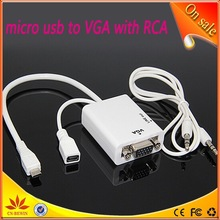 perfect vga to rca cable with phone to vga adapter