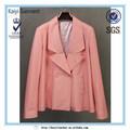 Mulheres-de-rosa atacado jaqueta de couro de cobra