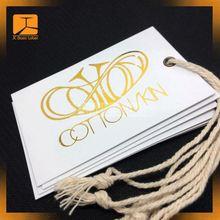 fashion garment hang tag design