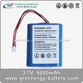 18650 6000 mah tablet pc de la batería reemplazar las plantas de fabricación para la venta