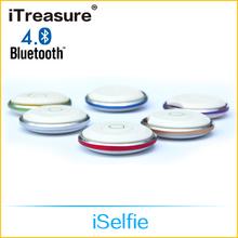 iTreasure bluetooth selfie remote, selfie bluetooth remote shutter, selfie stick with bluetooth shutter button