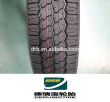 Yüksek kalite ve düşük fiyat fabrika hl98 desen 165/70r13c pcr otomobil lastikleri/lastikler