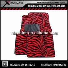 XRACING 2014 Good quality decorative Zebra car mats