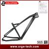 ORGE Manufacture China MTB Carbon Frame 29er High Quality Cheap Racing Bike.