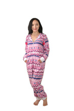 100% polyester mico fleece women onesie pajamas/nightwear/sleepwear