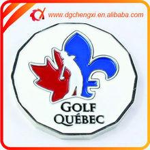 Bulk Wholesale Golf Links Magnetic Coin Holder & Ball Marker