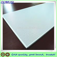 Perforated Suspended Ceiling Parts,Interior Aluminum False Ceilings