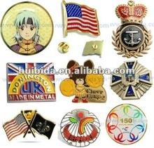 Diseny and ICTI factory custom metal badge promotion printing badge pin