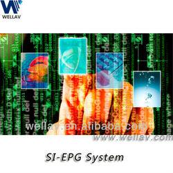 Digital headend EPG System