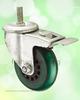 Double Bearing Medium Heavy Duty PU Trolley Wheel Caster