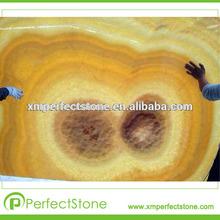 yellow honey onyx crystal marble