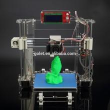 In Stock! LED operating touch display impresora 3d, cheap price home use DIY digital desktop SLA 3D printer China