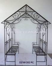 Wrought Iron Garden Pavilion Gazebo