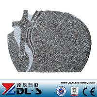 Competitive Price G664 Granite Poland Tombstone, Cheap Granite Tombstone