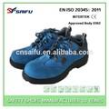 SF23412 CE certificado S1P SRC Zapatos de seguridad y de poco peso, con puntera y plantilla de plástico, no de metal.