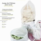 Set of 3 Laundry Bags
