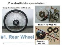 HD Axle Kit For Motorized Bike