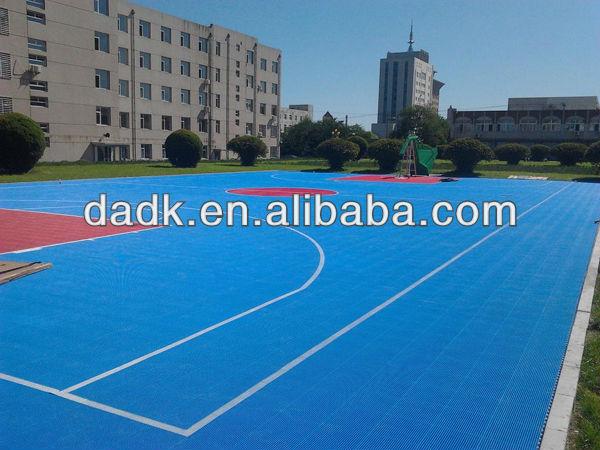 Factory wholesale indoor and outdoor basketball flooring