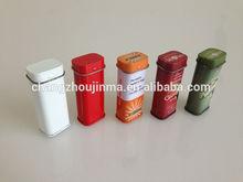 Hinged mini pill/mint/toothpick tin box