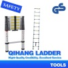 3.2m 11steps telescopic extension ladder with EN131 QH-A11