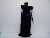 black velvet wine bag
