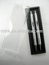 Metal Ball Point Pen & Pencil Set in box SA8000 Sedex logo advertising promotional items slogan pens factory audit China
