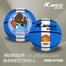 custom logo rubber basketballs