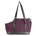 Polka Dots pattern Pet Portable Dog Cat Shoulder Handbag Travel Bag Carrier