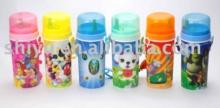 600ml 3D water bottle