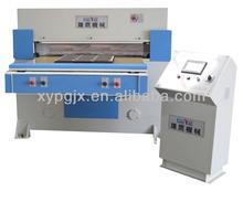 CE Single feeding PLC hydraulic fabric cutting machine
