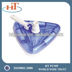 swimming pool plastic triangular vacuum head swivel 5528
