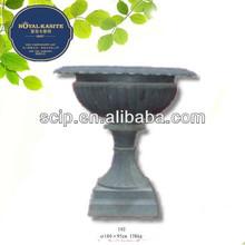 antique color cast iron flower planter