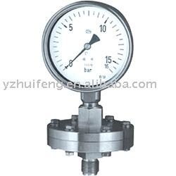 Diafragma indicador de presión