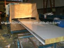 Antialérgica XMF de lana de roca panel sándwich de maquinaria