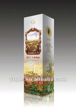 Lenticular 3D plastic pcakaging box for wine vodka whiskey