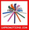 promotional pvc wristband/plastic kids bracelet