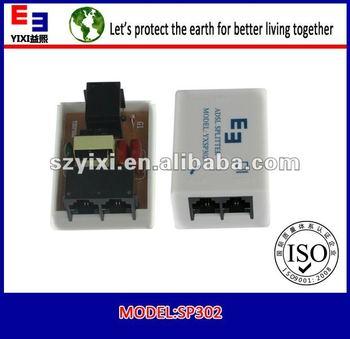 white india broadband adsl splitter with three 6p2c rj11 w tel network 24port utp sc st lc odf fiber optic krone