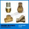 Water pump foot valve