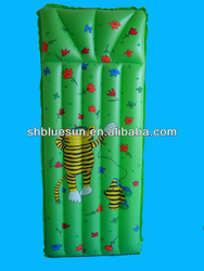 new design inflatable mattress 6P free PVC