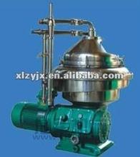 Marine oil and fuel oil centrifuge separator