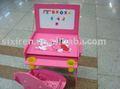 Los niños muebles de foshan en71, sgs/estudio de los niños escritorio y silla