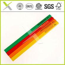 "7''/10"" oval/octagonal wooden carpenter pencil"
