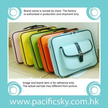 13 inchs colorful high quality fancy laptop bags
