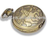 Engraved Antique Erotic Pocket Watch