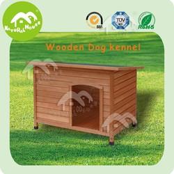 wholesale indoor outdoor fancy heated heavy duty waterproof collaspsible handmade eco-friendly wood wooden dog kennel for sale